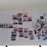 De tweede collage, om kinderen te laten zien hoe de samenhang in het werk van Truusje is.
